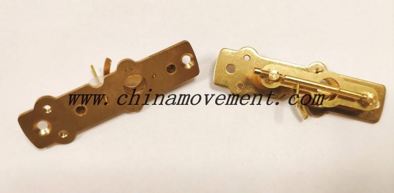 FYEC75-G14T--Diaphragm pressure gauge movement